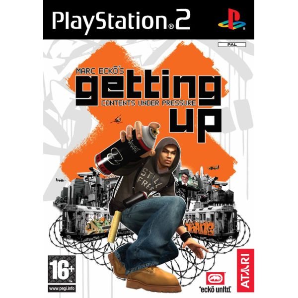Marc Ecko's Getting Up: Contents Under Pressure [PS2] - BAZÁR (použitý tovar)
