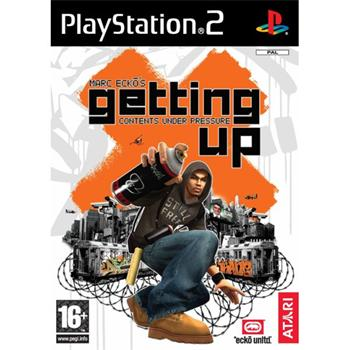 Marc Ecko�s Getting Up: Contents Under Pressure [PS2] - BAZ�R (pou�it� tovar)