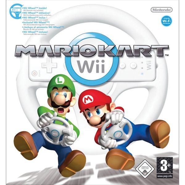 Mario Kart Wii + volant
