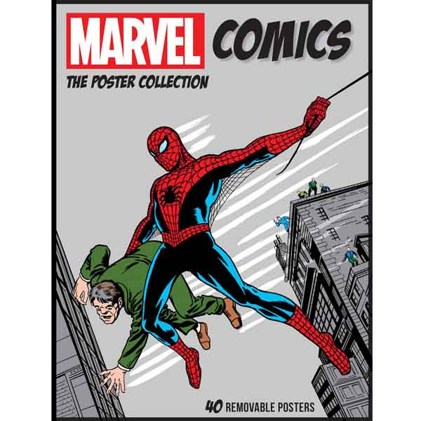 Marvel Comics: The Poster Collection komiks