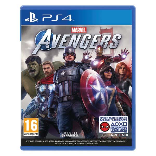Marvel's Avengers CZ [PS4] - BAZÁR (použitý tovar)