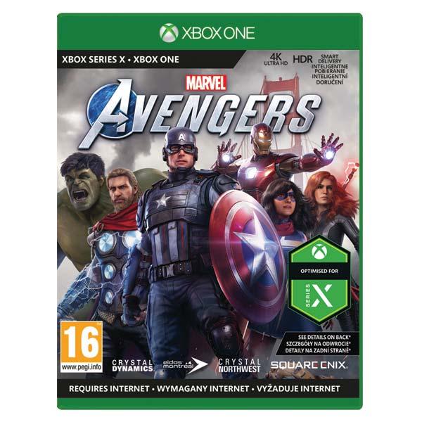 Marvel's Avengers CZ [XBOX ONE] - BAZÁR (použitý tovar)