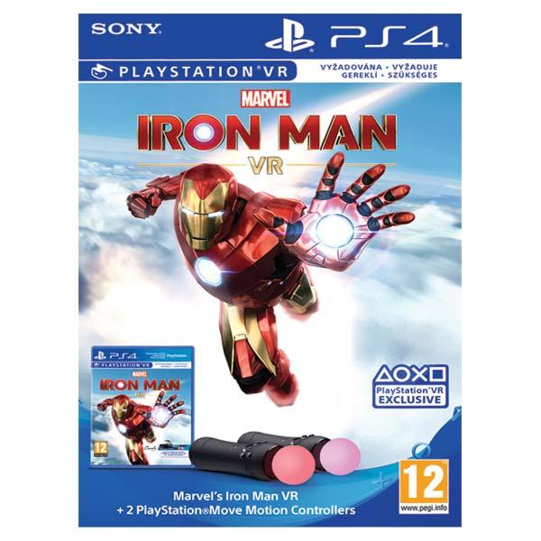 Marvel's Iron Man VR Bundle + 2 PlayStation Move Motion Controllers - OPENBOX (Rozbalený tovar s plnou zárukou)