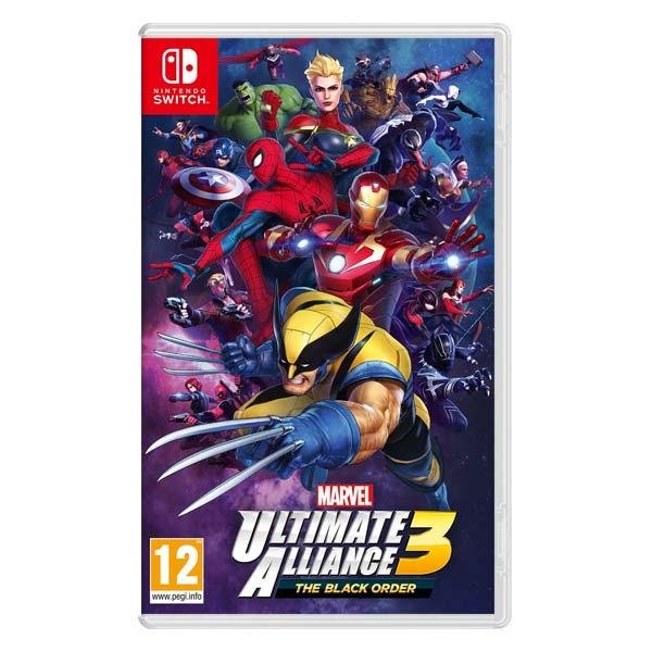 Marvel Ultimate Alliance 3: The Black Order [NSW] - BAZÁR (použitý tovar)