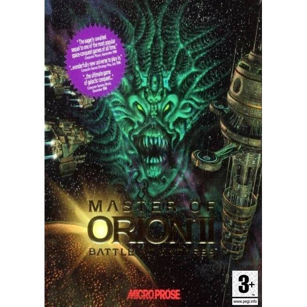 Master of Orion 2: Battles at Antares PC