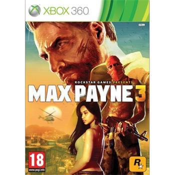 Max Payne 3- XBOX 360- BAZÁR (použitý tovar