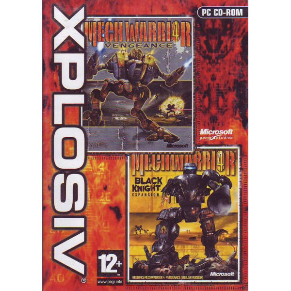 Mechwarrior 4: Vengeance + Mechwarrior 4: Black Knight