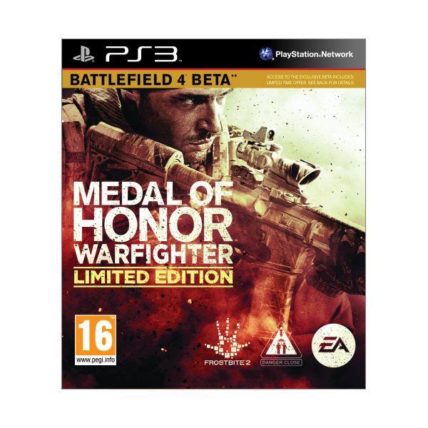 Medal of Honor: Warfighter (Limited Edition) [PS3] - BAZÁR (použitý tovar)