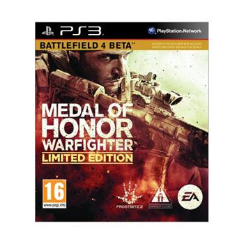 Medal of Honor: Warfighter (Limited Edition) [PS3] - BAZ�R (pou�it� tovar)