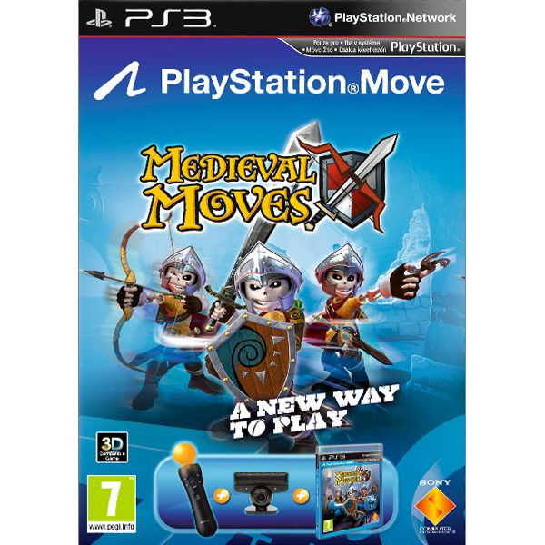 Medieval Moves + Sony PlayStation Move Starter Pack PS3