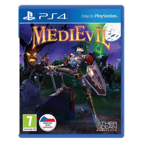 MediEvil CZ [PS4] - BAZÁR (použitý tovar)