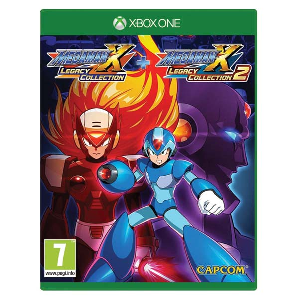Mega Man X (Legacy Collection) + Mega Man X (Legacy Collection 2) XBOX ONE