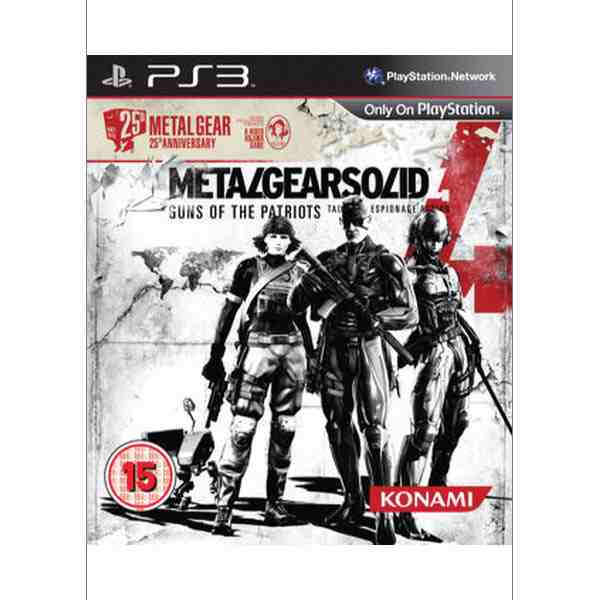 Metal Gear Solid 4: Guns of the Patriots (25th Anniversary Edition)