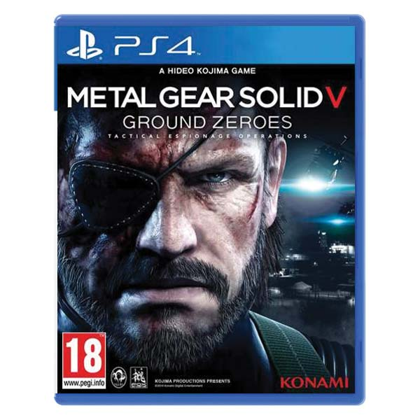 Metal Gear Solid 5: Ground Zeroes [PS4] - BAZÁR (použitý tovar)