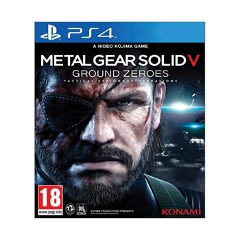 Metal Gear Solid 5: Ground Zeroes [PS4] - BAZ�R (pou�it� tovar)