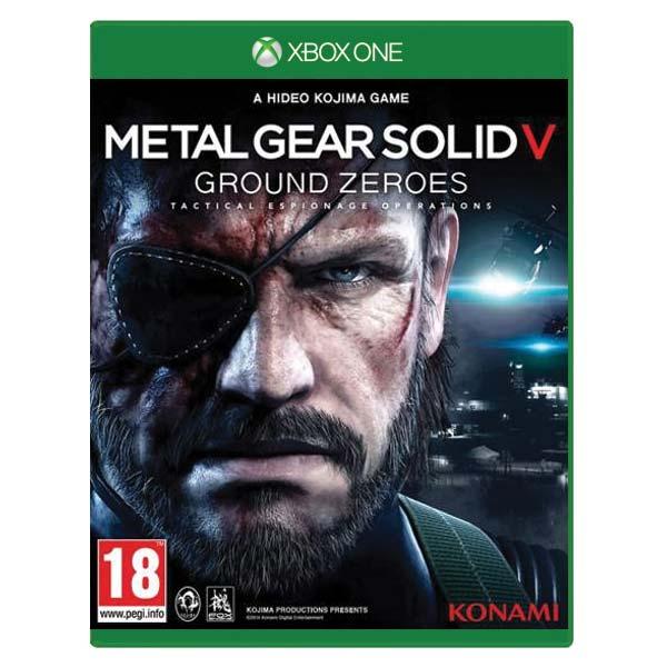 Metal Gear Solid 5: Ground Zeroes [XBOX ONE] - BAZÁR (použitý tovar)
