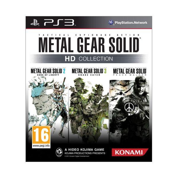 Metal Gear Solid (HD Collection) PS3 - BAZÁR (použitý tovar)
