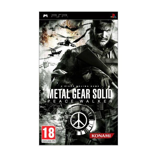Metal Gear Solid: Peace Walker [PSP] - BAZÁR (použitý tovar)