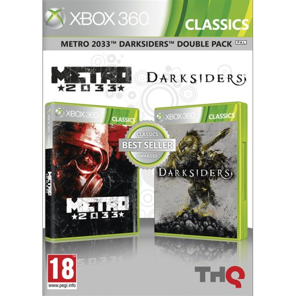 Metro 2033 & Darksiders (Double Pack) XBOX 360