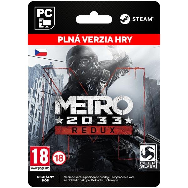 Metro 2033 Redux CZ [Steam]