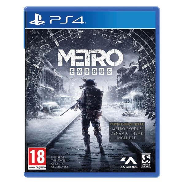 Metro Exodus CZ [PS4] - BAZÁR (použitý tovar)