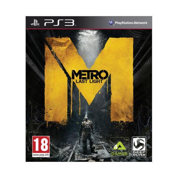 Metro: Last Light [PS3] - BAZÁR (použitý tovar)