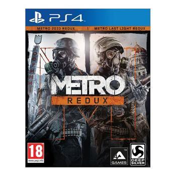 Metro Redux CZ [PS4] - BAZÁR (použitý tovar)