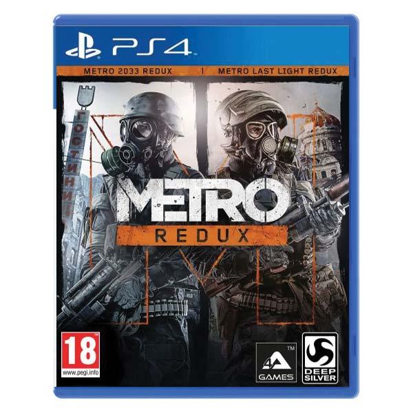 Metro Redux [PS4] - BAZÁR (použitý tovar)