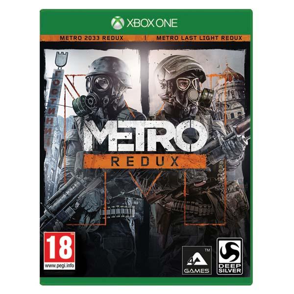 Metro Redux [XBOX ONE] - BAZÁR (použitý tovar)