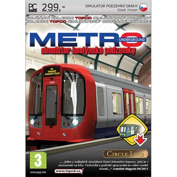 Metro: Simulátor londýnskej podzemky CZ