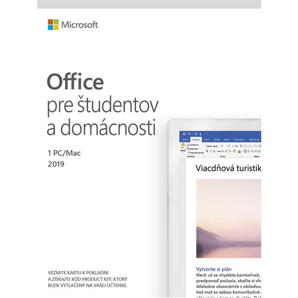 Office 2019 Home & Student - 12 mesiacov