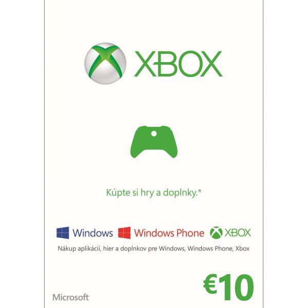 Microsoft LIVE Card 10€