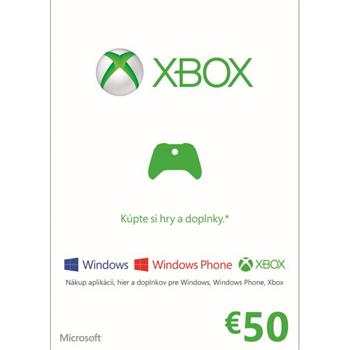 Microsoft LIVE Card 50€ CD-Key