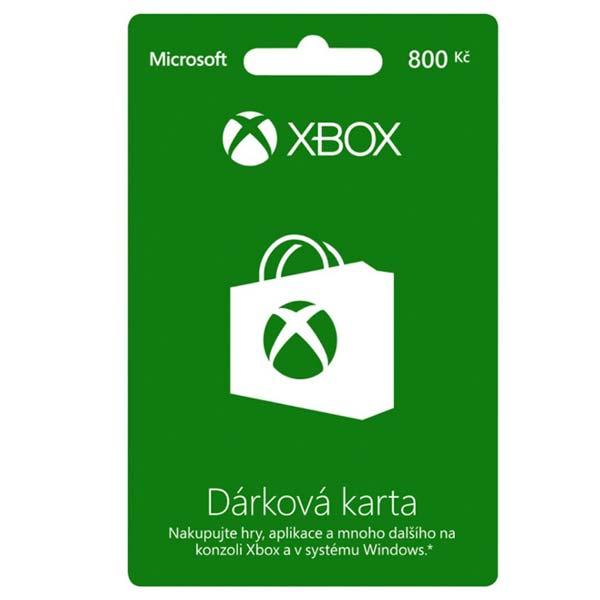 Microsoft LIVE Card 800 Kč