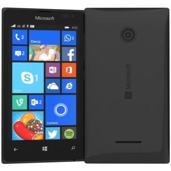 Microsoft Lumia 435, WindowsPhone 8   Black, Trieda C - použité, záruka 12 mesiacov