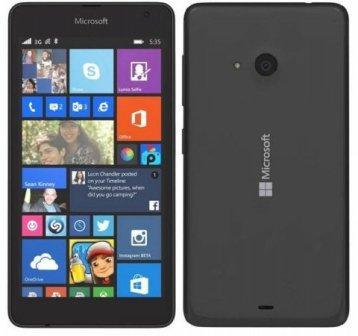 Microsoft Lumia 535, WindowsPhone 8   Black, Trieda B - použité, záruka 12 mesiacov