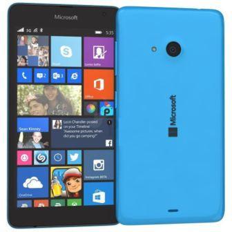 Microsoft Lumia 535, WindowsPhone 8 | Blue, Trieda C - použité, záruka 12 mesiacov