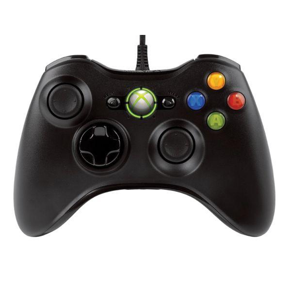 Microsoft Xbox 360 Controller, black BAZÁR (použitý tovar , zmluvná záruka 12 mesiacov)