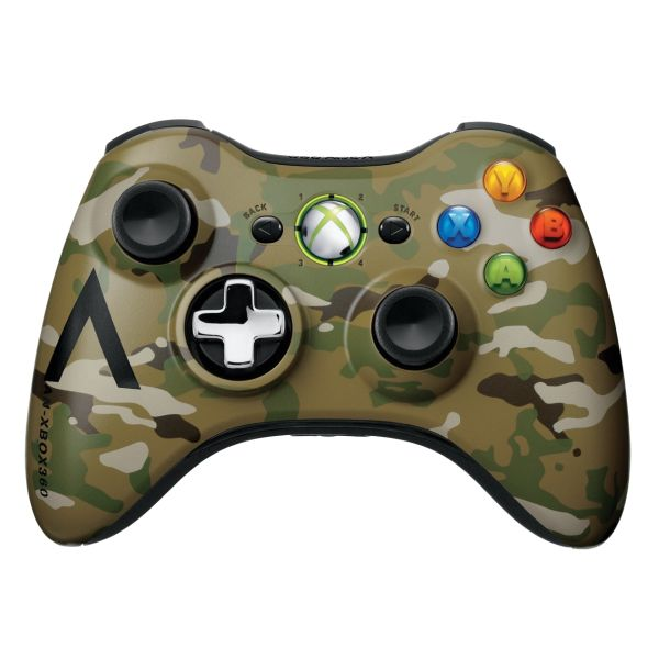 Microsoft Xbox 360 Wireless Controller, camouflage (Special Edition)