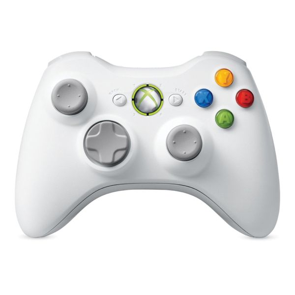 Microsoft Xbox 360 Wireless Controller, white (Special Edition)