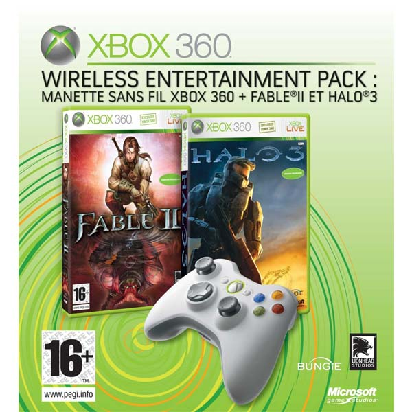 Microsoft Xbox 360 Wireless Entertainment Pack