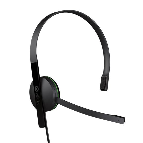 Microsoft Xbox One Chat Headset, black