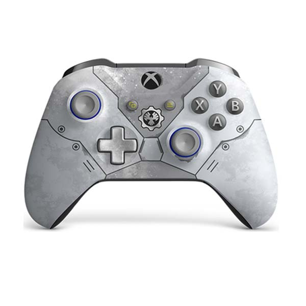 Microsoft Xbox One S Wireless Controller, light grey Gears 5 (Special Edition)