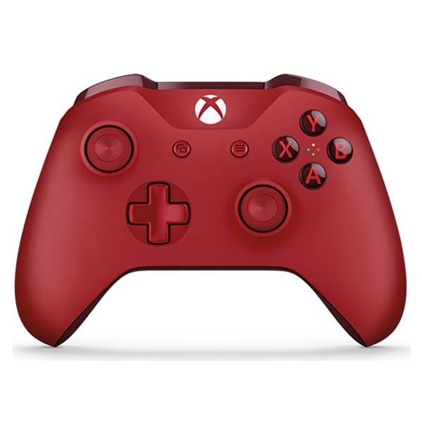 Microsoft Xbox One S Wireless Controller, red - BAZÁR (použitý tovar , zmluvná záruka 12 mesiacov)