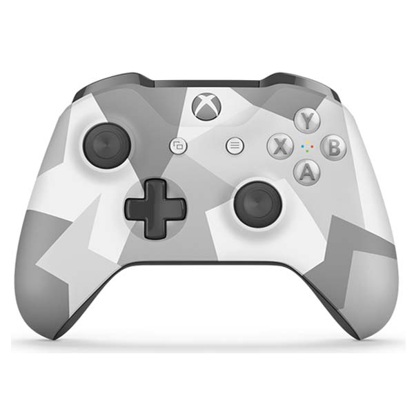 Microsoft Xbox One S Wireless Controller, winter forces (Special Edition) Martin