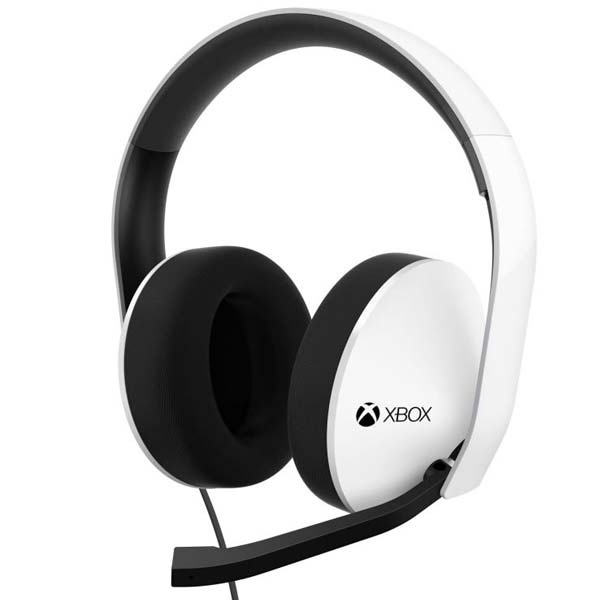 Microsoft Xbox One Stereo Headset, Armed White