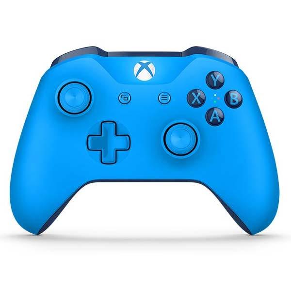 Microsoft Xbox One Wireless Controller, blue - BAZÁR (použitý tovar , zmluvná záruka 12 mesiacov)