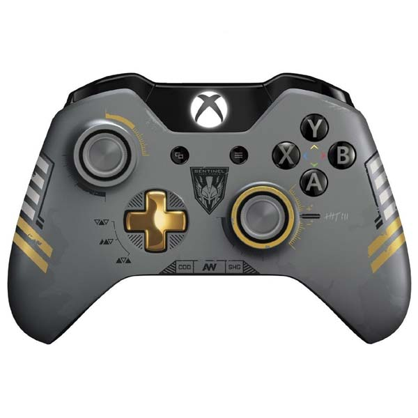 Microsoft Xbox One Wireless Controller (Call of Duty: Advanced Warfare) - Použitý tovar, zmluvná záruka 12 mesiacov