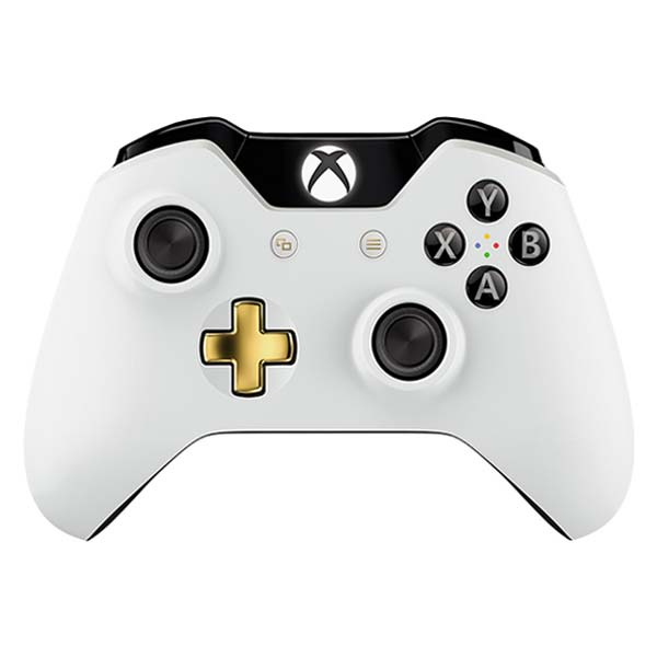Microsoft Xbox One Wireless Controller, lunar white (Special Edition)