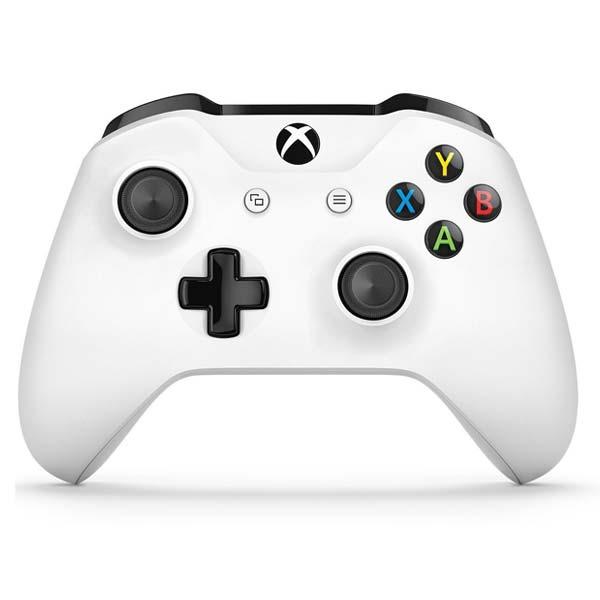 Microsoft Xbox One Wireless Controller, white - BAZÁR (použitý tovar , zmluvná záruka 12 mesiacov)